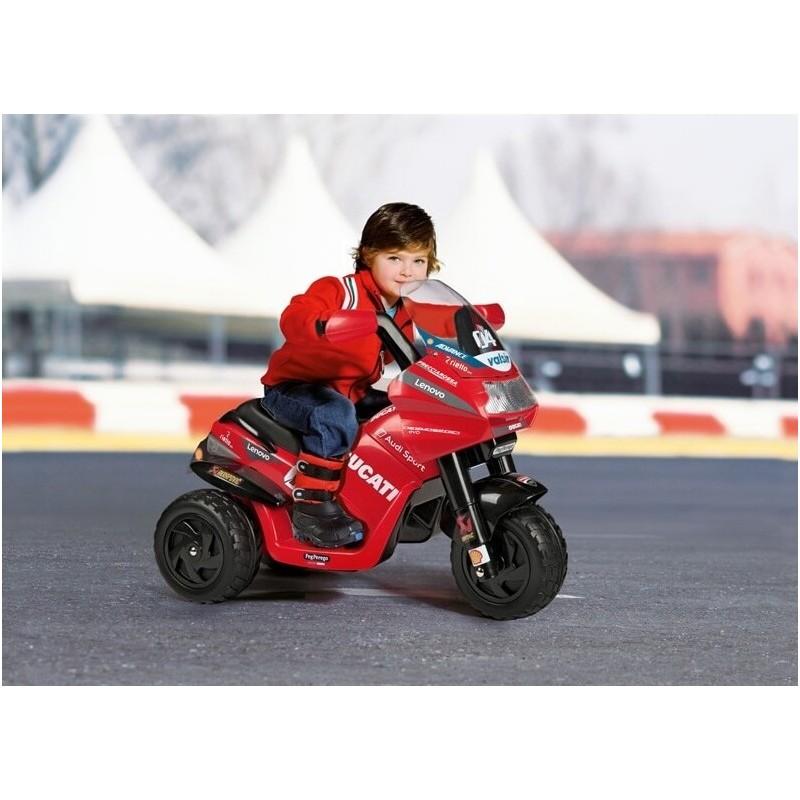 Elektromobilis motociklas PEG PEREGO DESMOSEDICI EVO, 6V