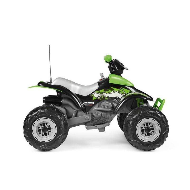 Elektromobilis PEG PEREGO CORRAL T-REX GREEN, 330W, 12V