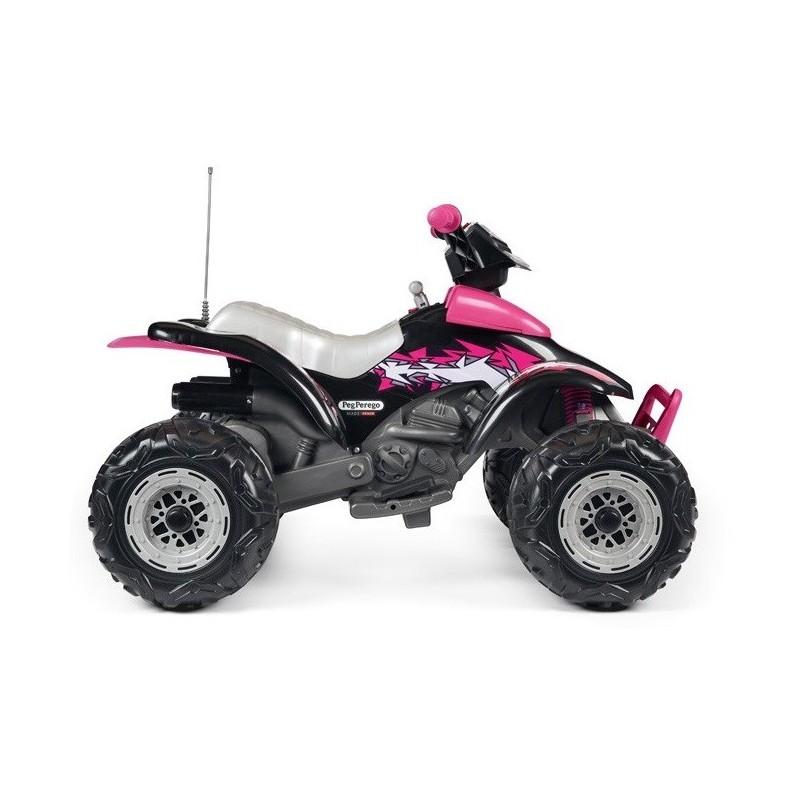 Elektromobilis PEG PEREGO CORRAL T-REX PINK 12 V