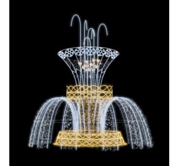 Dekoracija 3D LED fontanas 700X475, 2982