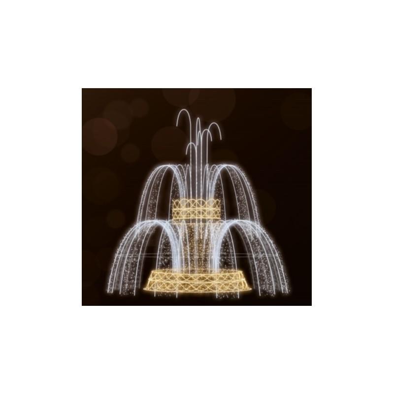 Dekoracija 3D LED fontanas 700X475, 2983