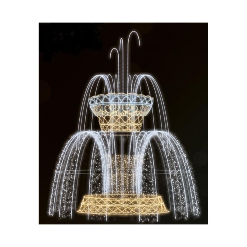 Dekoracija 3D LED fontanas 700X475, 2984