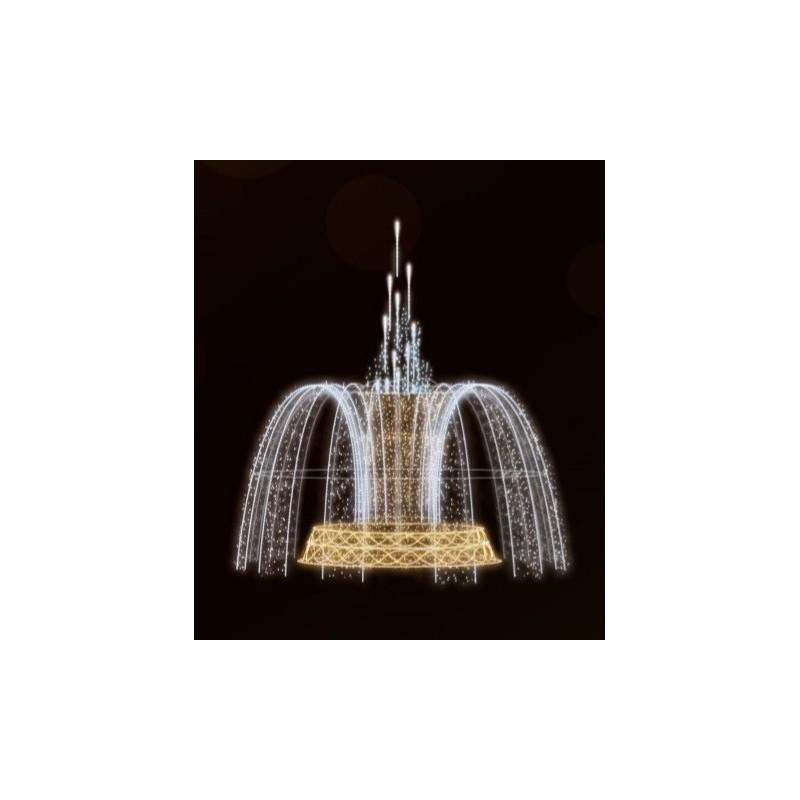 Dekoracija 3D LED fontanas 600X475, 2985