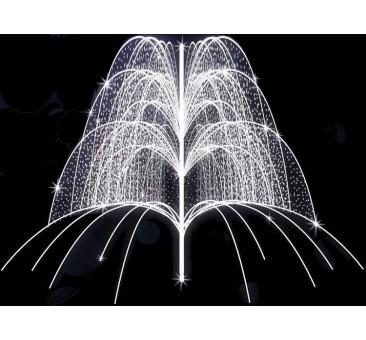 Dekoracija 3D LED fontanas 350x400, 1961