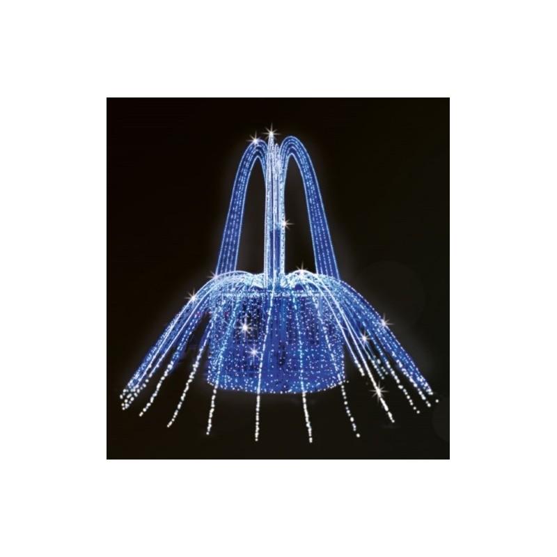 Dekoracija 3D LED fontanas 250x300, 0906