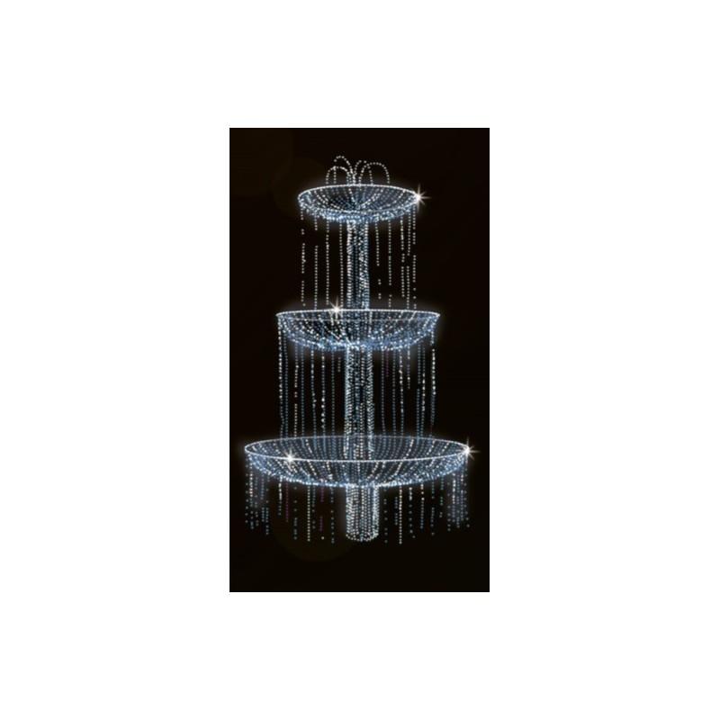 Dekoracija 3D LED fontanas 290x170, 0903