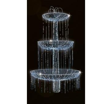 Dekoracija 3D LED fontanas 475x270, 0903