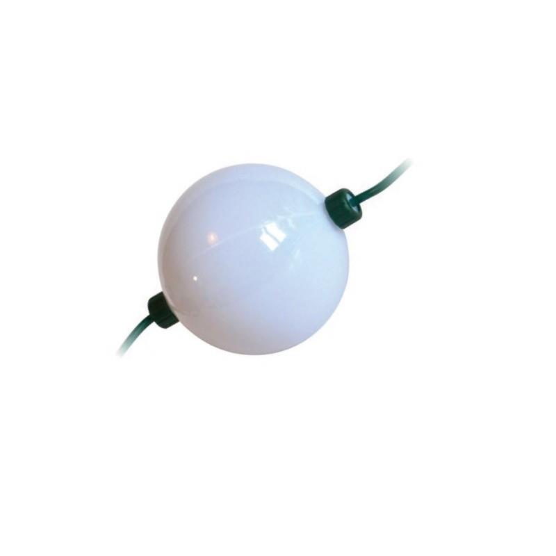 Profesionali LED burbulinė girlianda, Ø10cm, 12m