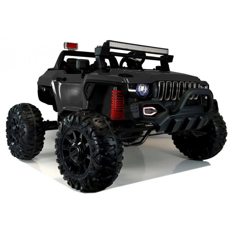 Elektromobilis QLS-618B, 4X4, 12V, juodas