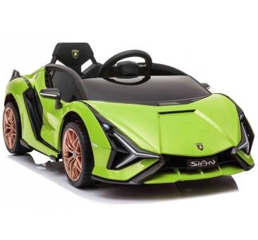 Elektromobilis LAMBORGHINI SIAN, 12V, žalias