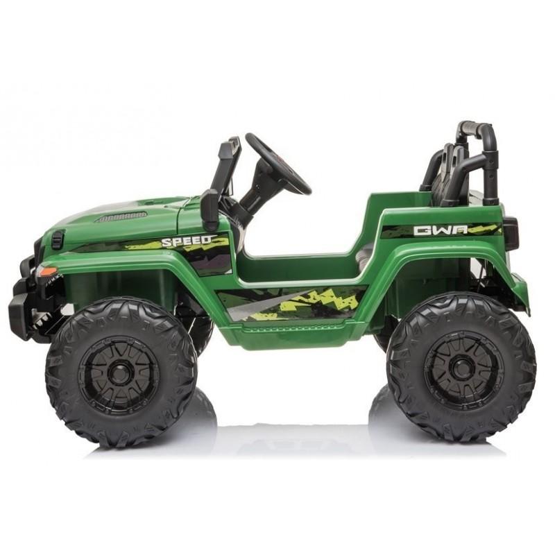 Elektromobilis CH9956, 12V, žalia