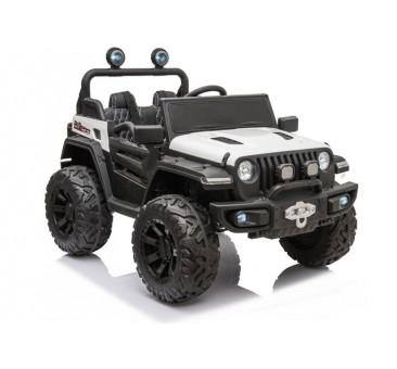 Elektromobilis Jeep HC8988, 4x4, 12V, baltas