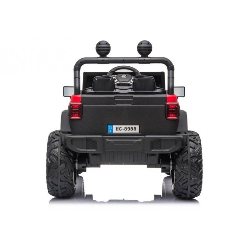 Elektromobilis Jeep HC8988, 4x4, 12V, raudonas