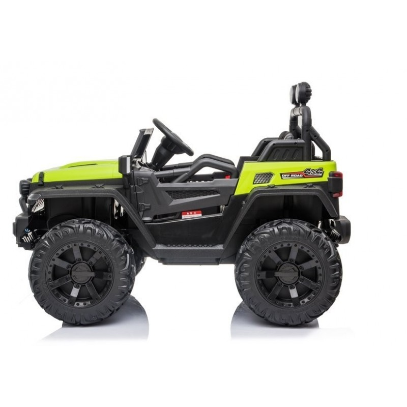 Elektromobilis Jeep HC8988, 4x4, 12V, žalias