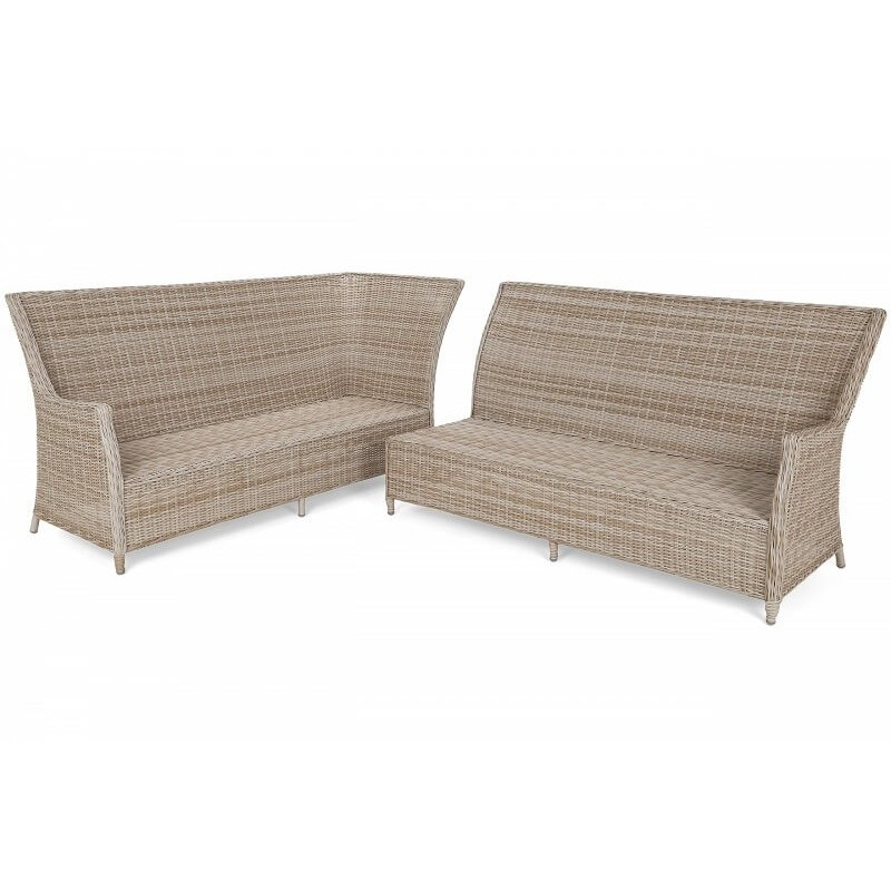 Lauko baldai ALIKANTE BEIGE/ BEIGE MELANGE (kairinis)