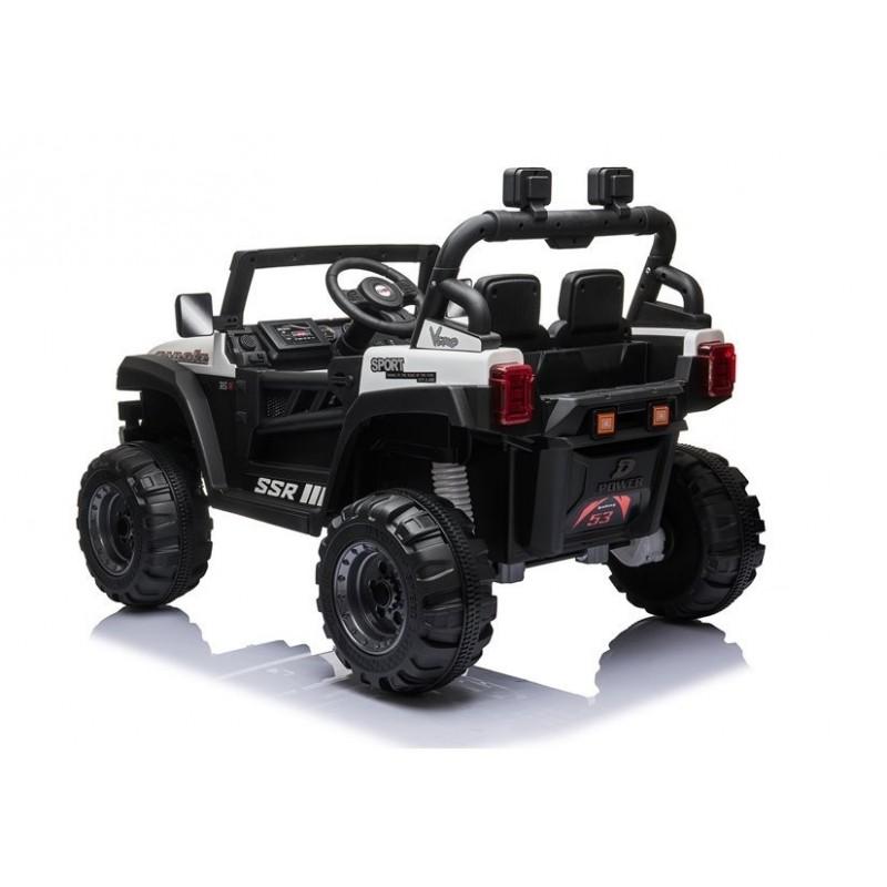 Elektromobilis BBH016, 12V, baltas