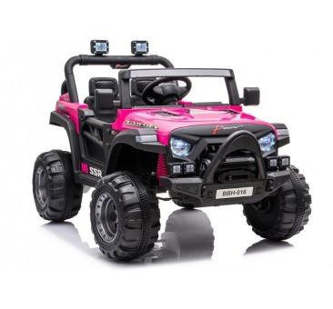 Elektromobilis BBH016, 12V, rožinis