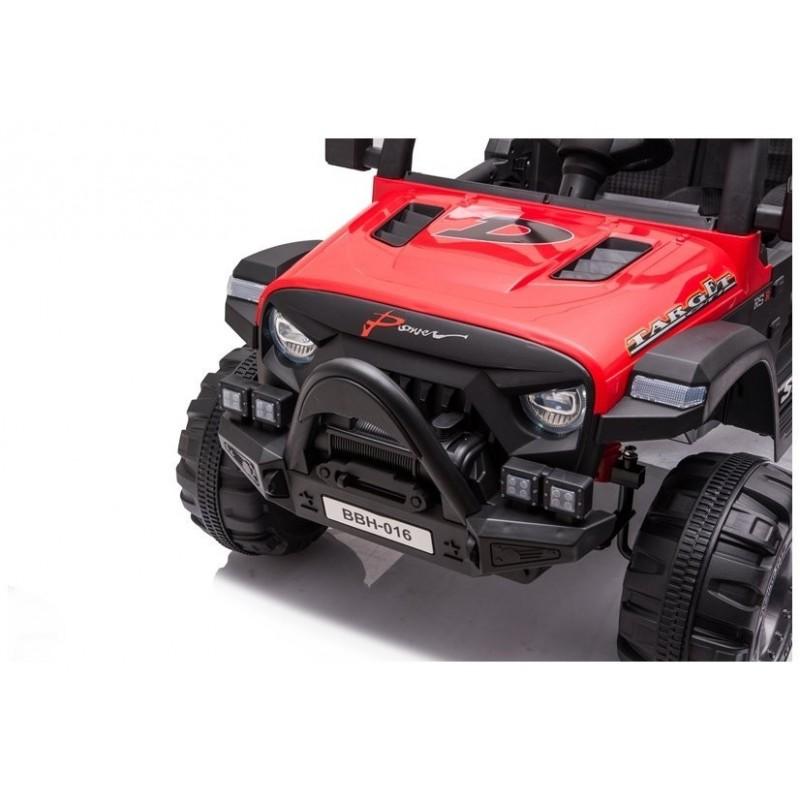 Elektromobilis BBH016, 12V, raudonas