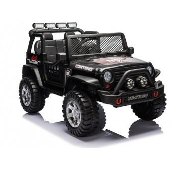 Elektromobilis XMX618 su LCD, 4x4, 2x12V, juodas lakuotas