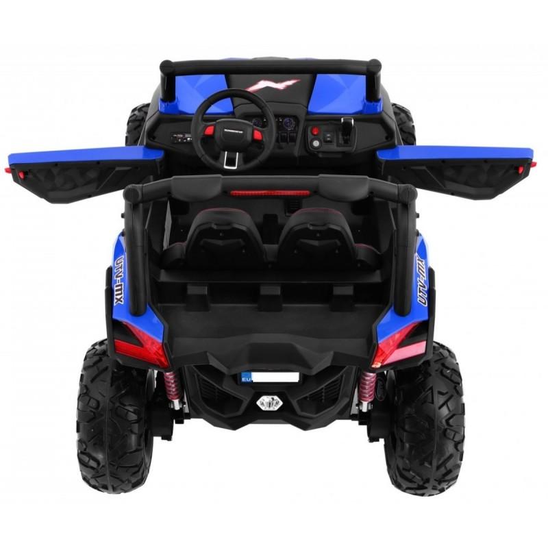Elektromobilis BUGGY SUPERSTAR, 4x4, 2x12V, mėlynas