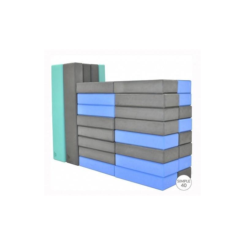 Minkštos kaladėlės SIMPLE 40