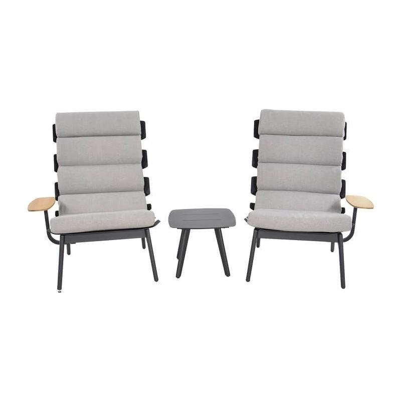 Lauko poilsio kėdės VENTUS NEGRO