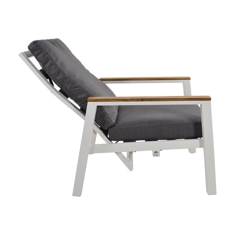 Lauko poilsio kėdės CODA WHITE