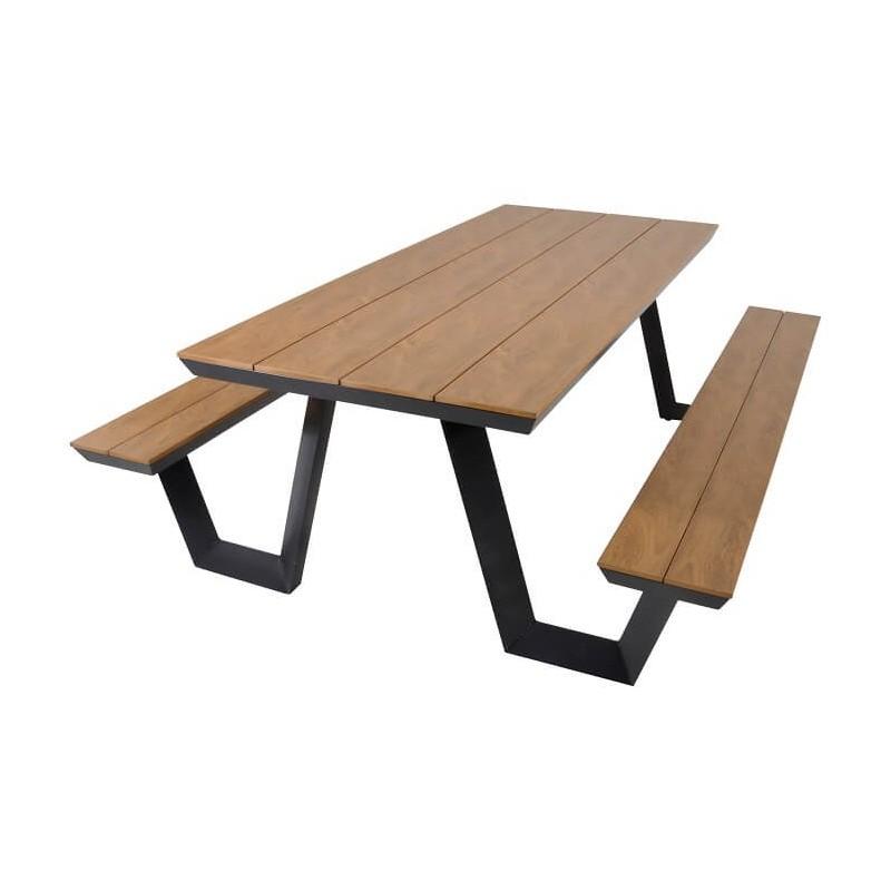 Lauko suoliukai su stalu AREZZO