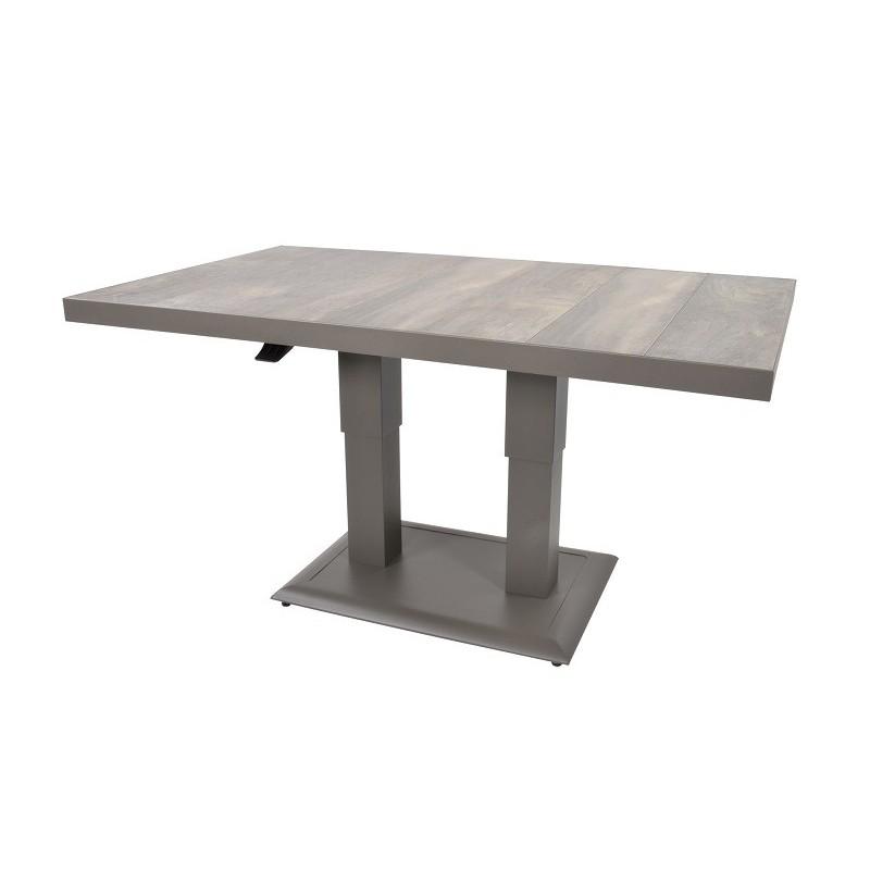 Reguliuojamas lauko valgomojo stalas PRATO  PARDO