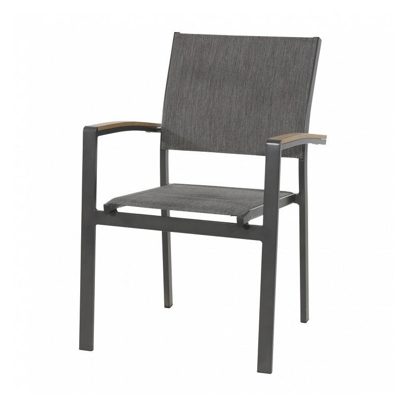 Pilka kėdė AREZZO