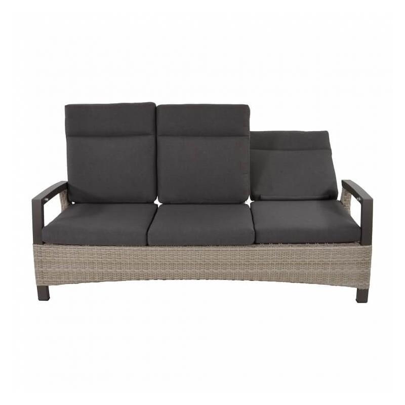 Trivietė sofa PRATO MOUNTAIN + pufas
