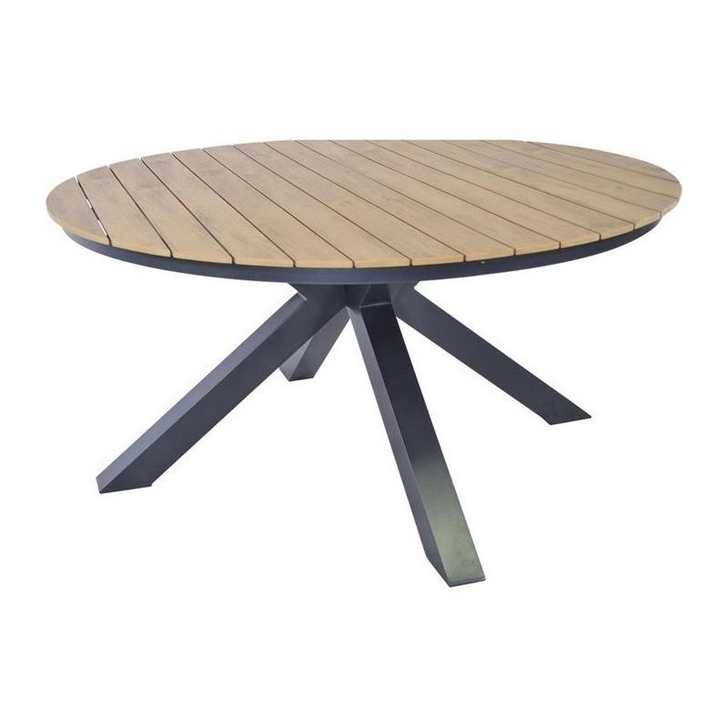 Apvalus lauko stalas AREZZO