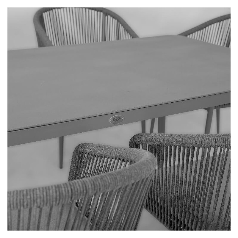 Lauko baldų komplektas ECCO 6+1