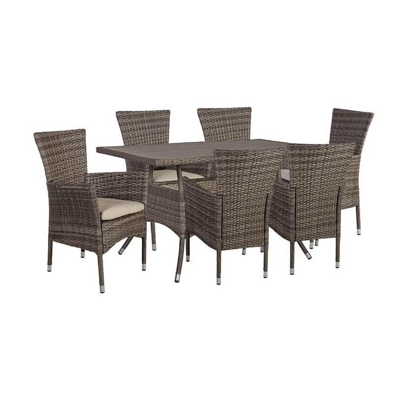 Lauko baldų komplektas PALOMA 6+1
