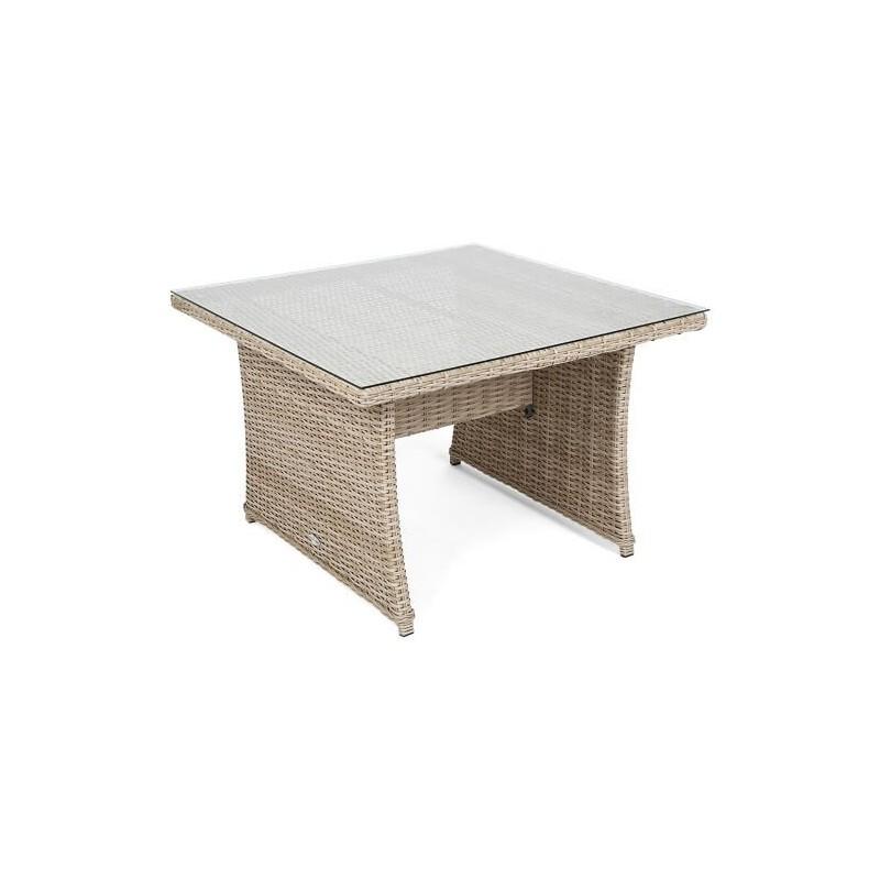 Kampas BERGAMI DINING + fotelis BEIGE/ BEIGE MELANGE