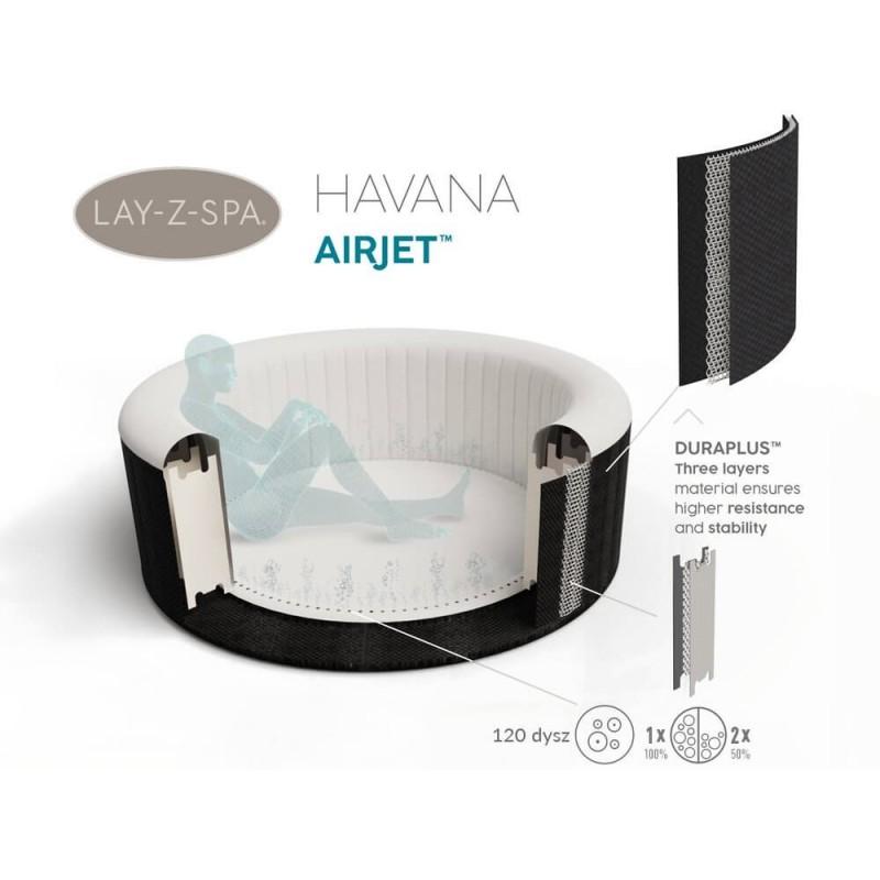 BESTWAY baseinas Lay-Z-Spa HAVANA 180x66cm