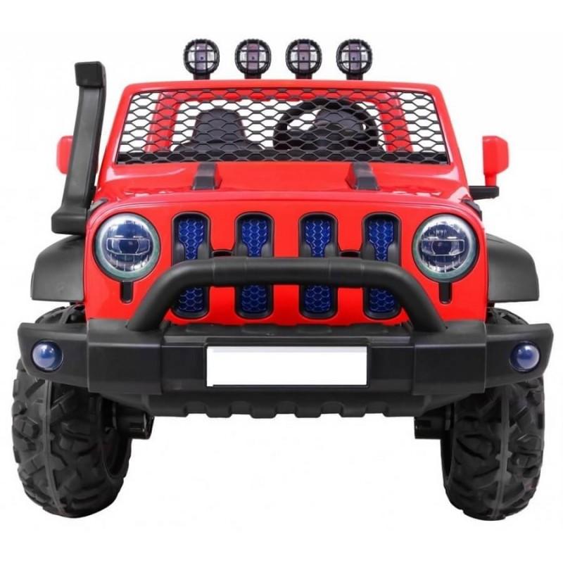 Elektromobilis ALL ROAD 4x4, 2x12V, raudonas