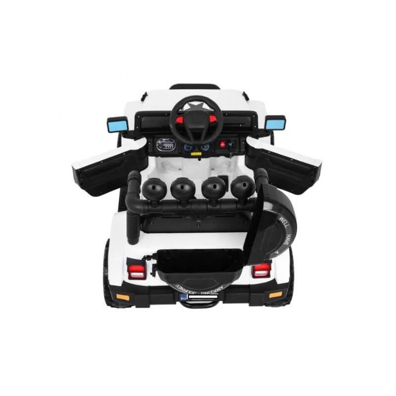 Elektromobilis FULL TIME OFF ROAD 4WD baltas