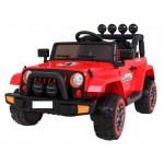 Elektromobilis FULL TIME OFF ROAD 4WD raudonas