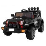 Elektromobilis FULL TIME OFF ROAD 4WD juodas