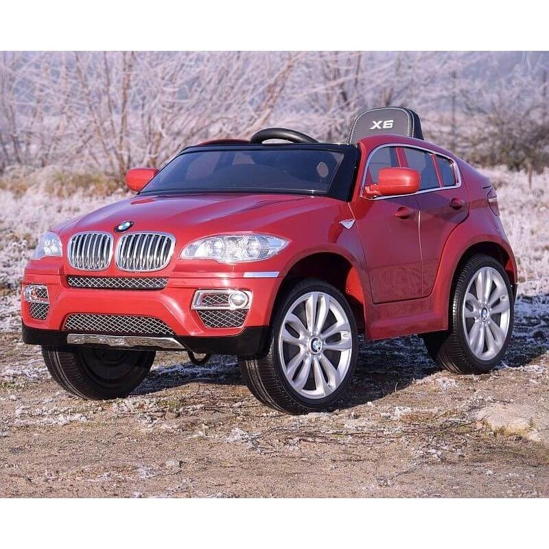 Elektromobilis BMW X6 raudonas 12 V