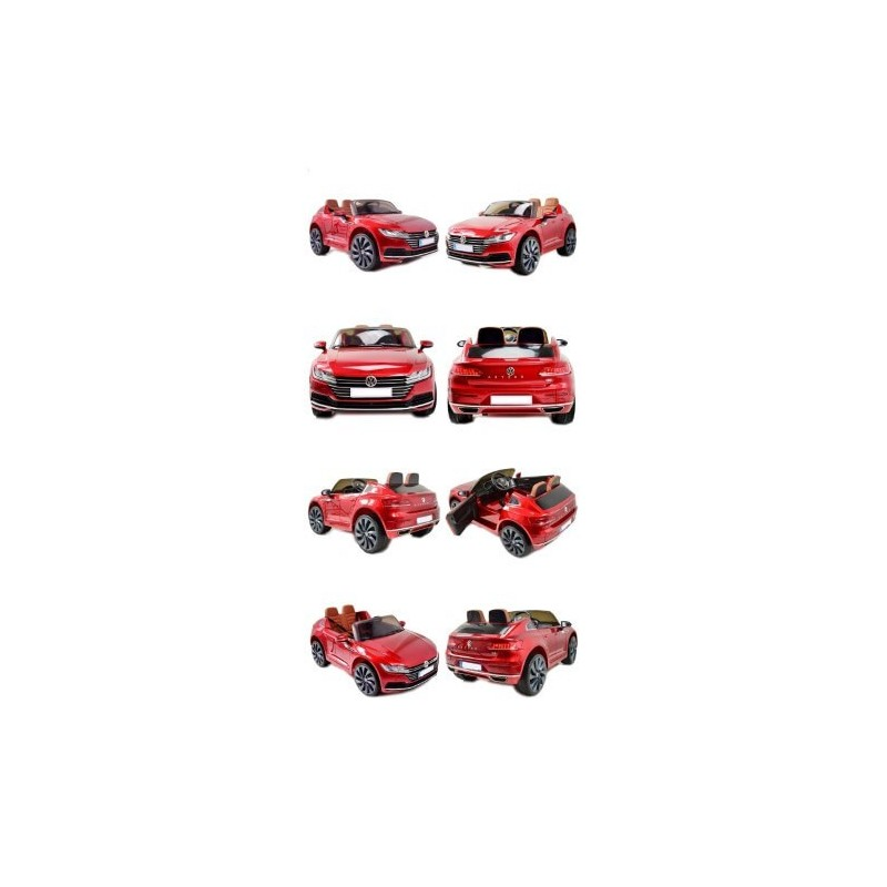 Elektromobilis VW ARTEON su LCD lakuotas  12V10Ah