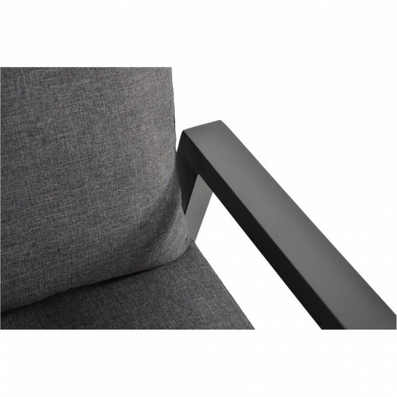 Minkšta reguliuojama trivietė lauko sofa OHIO