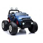Elektromobilis FORD RANGER MONSTER 4x4 2x12V su LCD lakuotas mėlynas