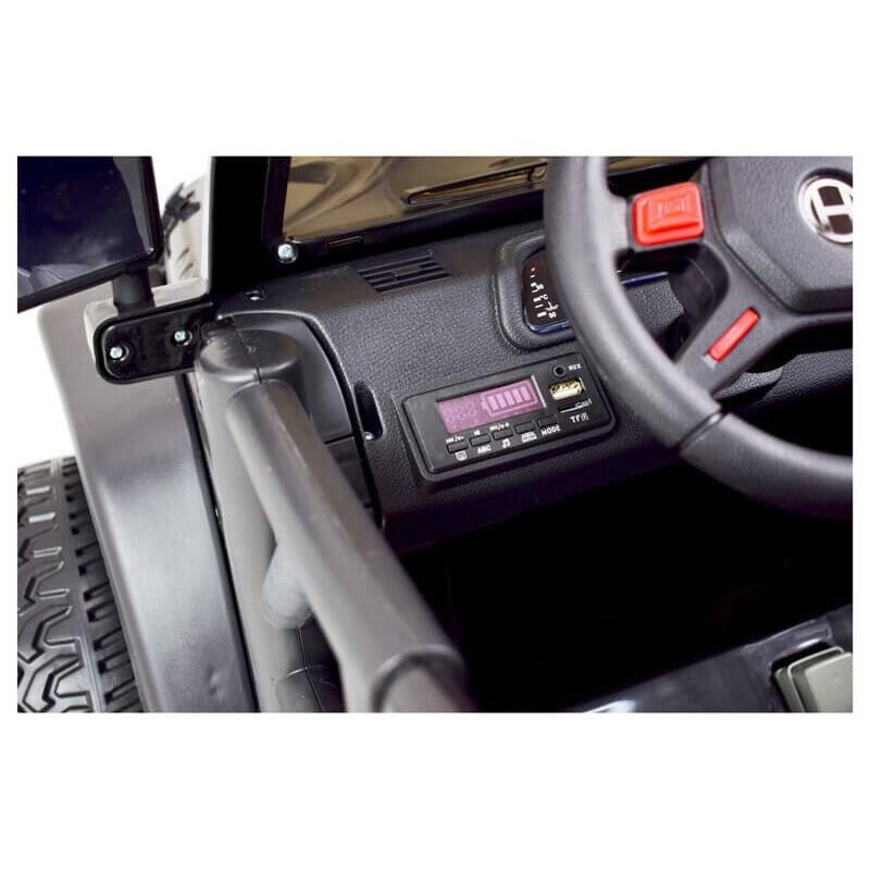 Elektromobilis  MEGA JEEP 002B EXCLUSIVE 12V10Ah 4x4