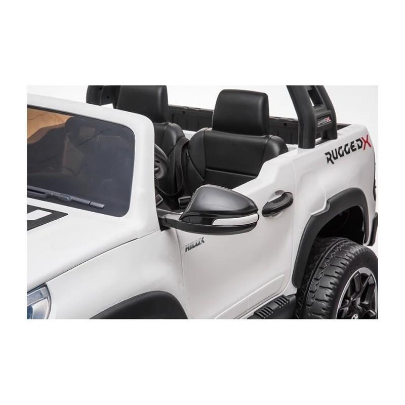 Elektromobilis TOYOTA HILUX, baltas, 4x4