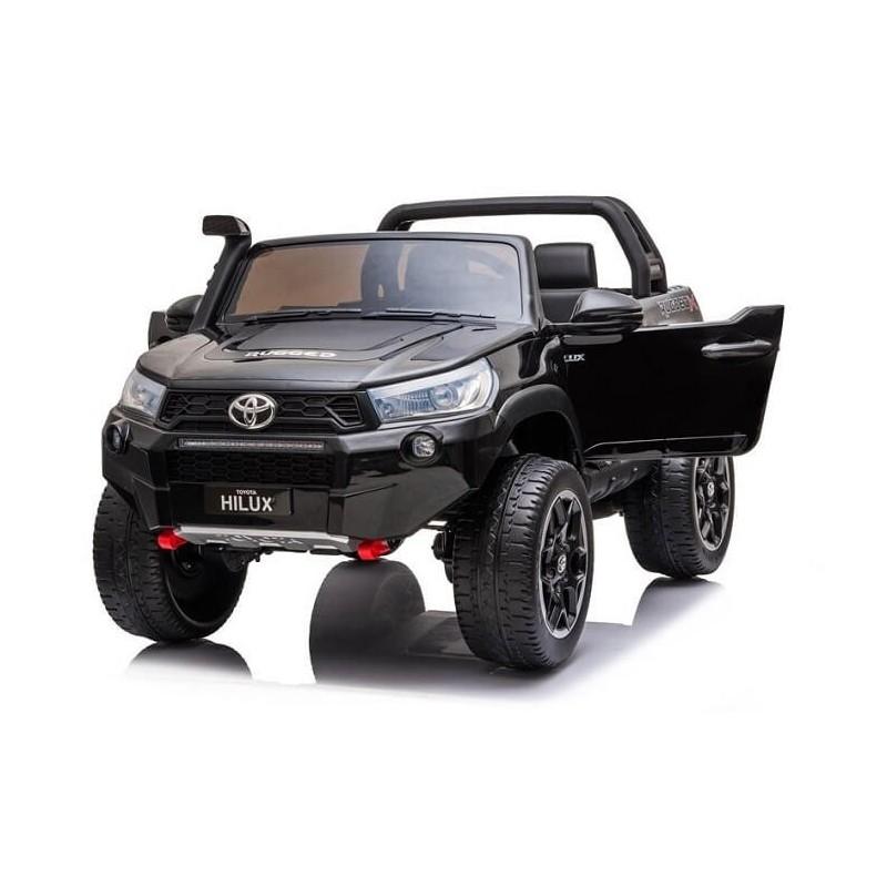 Elektromobilis TOYOTA HILUX, juodas, 4x4