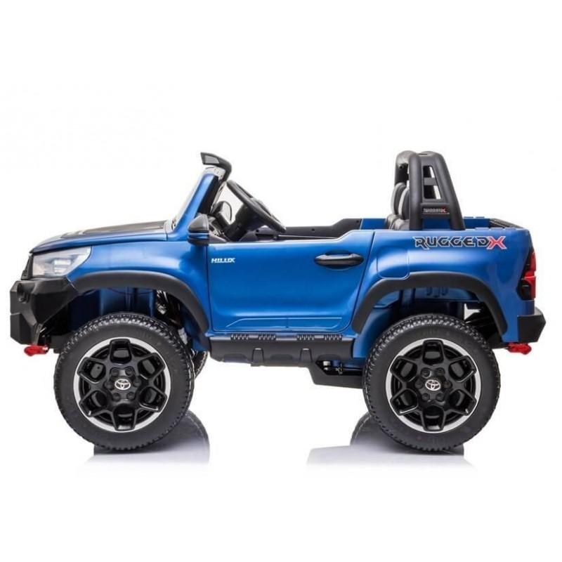 Elektromobilis TOYOTA HILUX, mėlynas, lakuotas, 4x4
