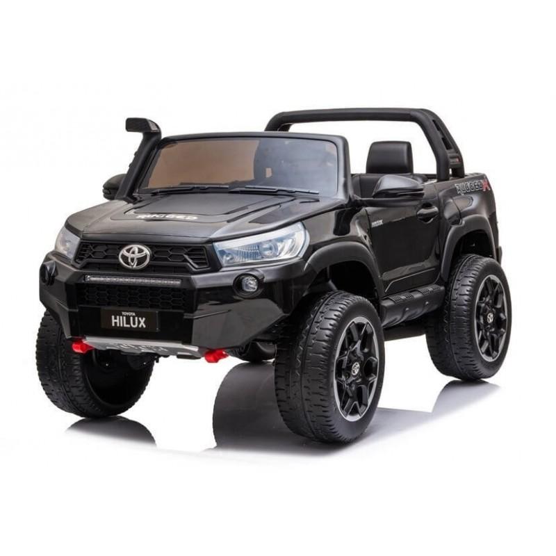 Elektromobilis TOYOTA HILUX, juodas, lakuotas, 4x4