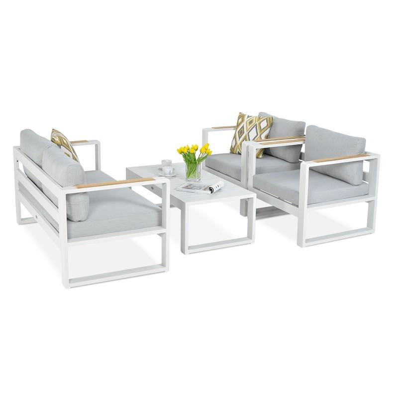 Lauko baldų rinkinys PANAMA WHITE